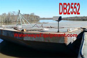DB2552 - 260' x 72' x 16' ABS DECK BARGE