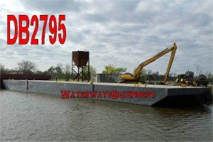 DB2795 - 120' x 30' x 7' DECK BARGE