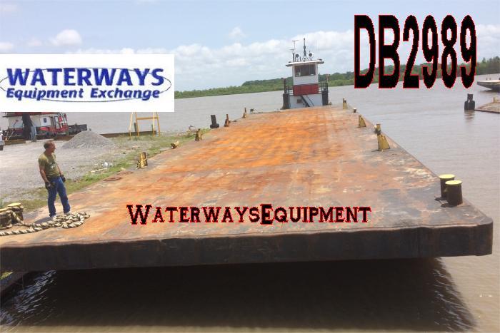 DB2989 - 120' x 30' DECK BARGE