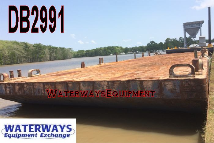 DB2991 - 120' x 30' DECK BARGE