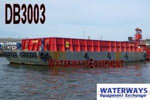 DB3003 - 90' x 30' x 8' DECK BARGE WITH BIN WALLS