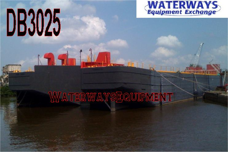 DB3025 - 300' x 72' x 19' ABS DECK BARGE FOR CHARTER