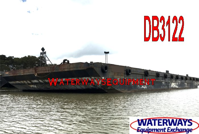 DB3122 - 250' x 72' x 16' ABS DECK BARGE FOR CHARTER