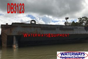 DB3123 - 250' x 80' x 16' ABS DECK BARGE FOR CHARTER