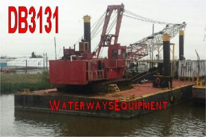 DB3131 - DREDGE BARGE FOR SALE
