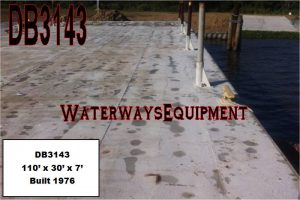 DB3143 - 110' x 30' x 7' DECK BARGE