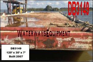 DB3149 - 120' x 30' x 7' DECK BARGE
