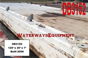 DB3152 - 120' x 30' x 7' DECK BARGE