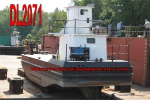 DL2071 - 40' x 16' x 6' 230 HP CONSTRUCTION BOAT