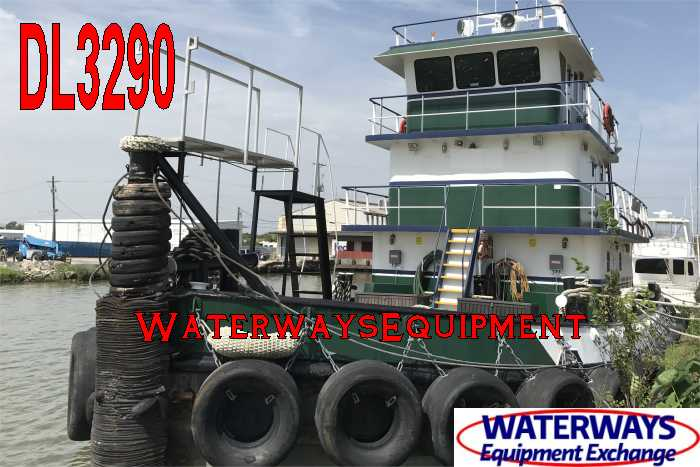 DL3290 - 1200 HP DECK LUGGER TUG