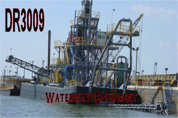 DR3009 - SAND & GRAVEL DREDGE