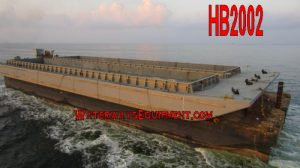HB2002 - 260' x 52.5' x 12' SUPER JUMBO HOPPER BARGES
