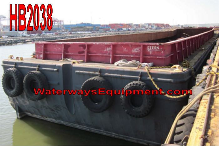 HB2038 - OPEN HOPPER BARGE
