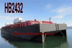 HB2432 - 4,000 TON COVERED HOPPER BARGE