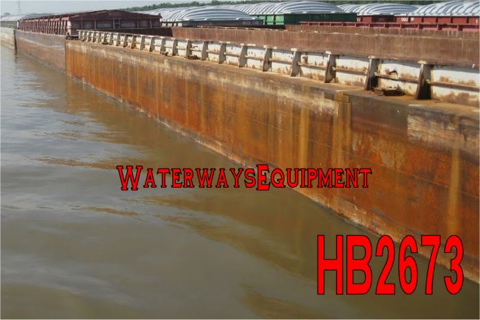 HB2673 - OPEN HOPPER BARGES FOR SALE OR CHARTER