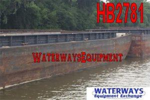HB2781 - OPEN HOPPER BARGES FOR SALE