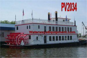 PV2034 - 65' x 26' x 6' 149 PASSENGER DINNER/EXCURSION/YACHT VESSEL