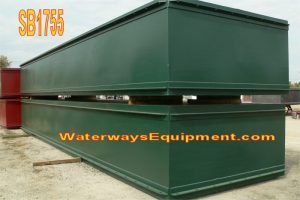 SB1755 - SECTIONAL BARGE – 40′ x 10′ x 5′