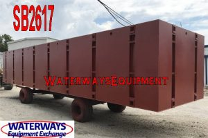 SB2617 - 40′ x 10′ x 7′ SECTIONAL BARGE