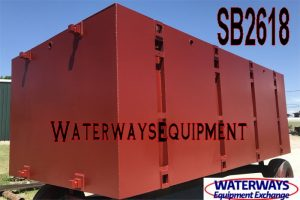 SB2618 - 20′ x 10′ x 7′ SECTIONAL BARGE
