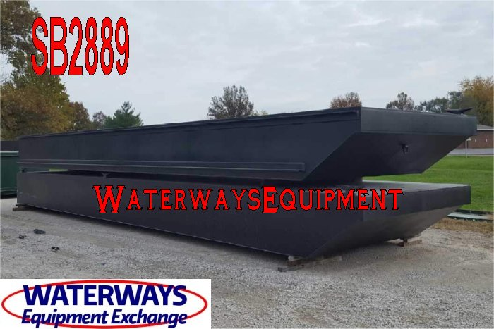 SB2889 - 40' x 30' x 3' SECTIONAL SPUD BARGE