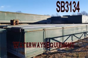 SB3134 - USED 40′ x 10′ x 5′ SECTIONAL BARGES