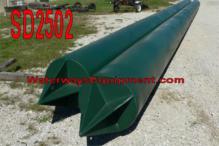 "SD2502 - 16"" DIAMETER x 30' BARGE SPUDS"