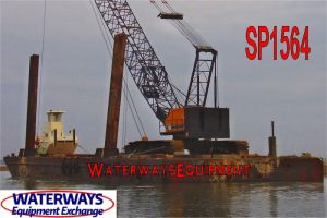 SP1564 - 140' x 50' x 10' ABS SPUD BARGE