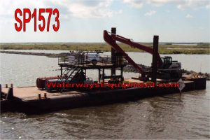 SP1573 - 90' x 30' SPUD BARGE