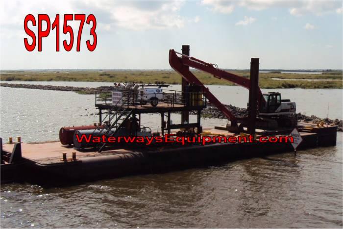 SP1573 - 90' x 30' SPUD BARGE