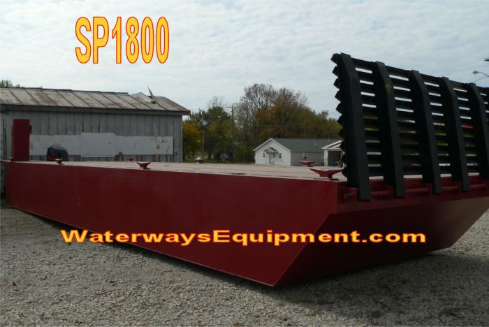 SP1800 - SELF PROPELLED BARGE