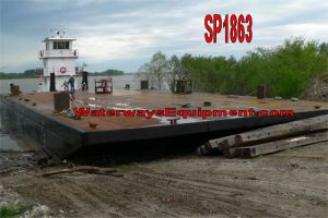 SP1863 - 100' x 50' x 7' NEW HD SPUD BARGE
