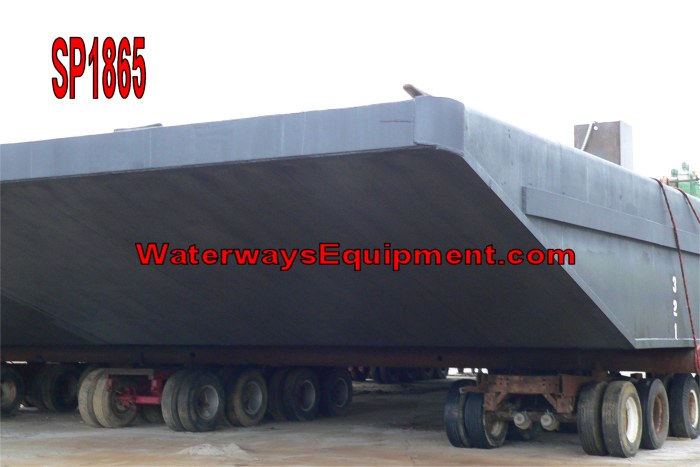 SP1865 - 150' x 50' x 7' NEW HD SPUD BARGE