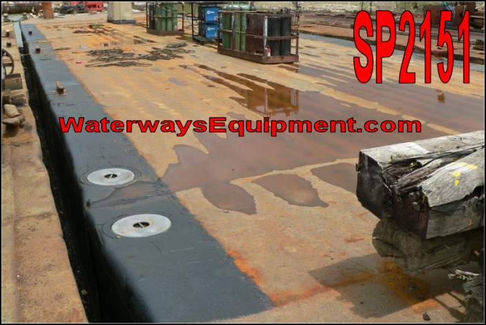 SP2151 - 120' x 30' x 7' DECK BARGE