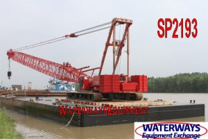 SP2193 - 150' x 60' x 10' ABS SPUD BARGE