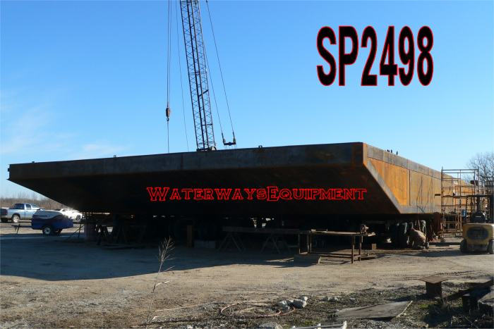 SP2498 - 140' x 52' x 7' NEW SPUD BARGE