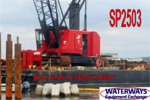 SP2503 - 140' x 54' x 9' ABS SPUD BARGE