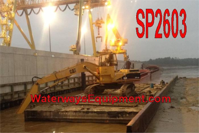 SP2603 - 120' x 45' SPUD BARGE