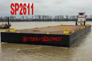 SP2611 - NEW 140' x 45' x 8' SPUD BARGE