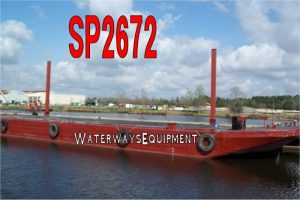 SP2672 - 192' x 42' x 11.5' SPUD BARGE