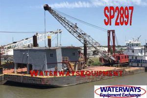 SP2897 - SPUD/CRANE/QUARTERS BARGE