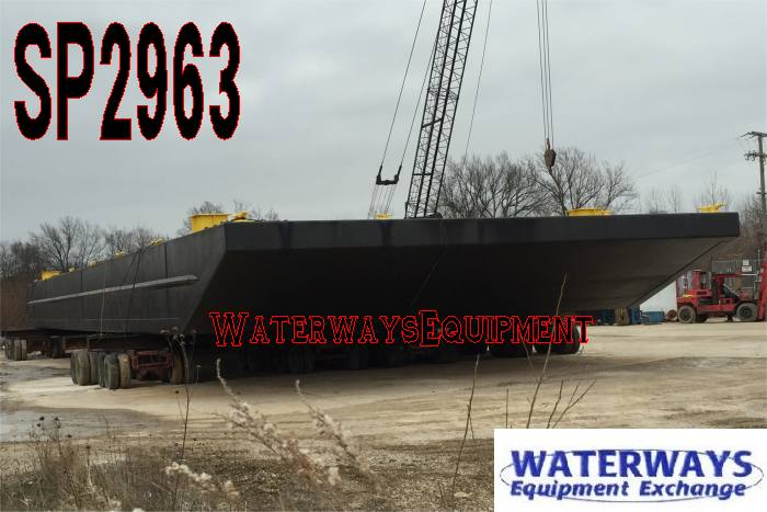 SP2963 - 120' x 50' x 7' INLAND SPUD BARGE