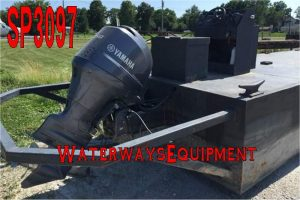 SP3097 - 25' x 8' x 3' 150 HP WORK BOAT