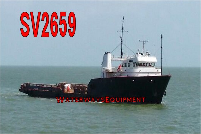 SV2659 - 185'x39.9'x14' 3000 HP OFFSHORE SUPPLY VESSEL