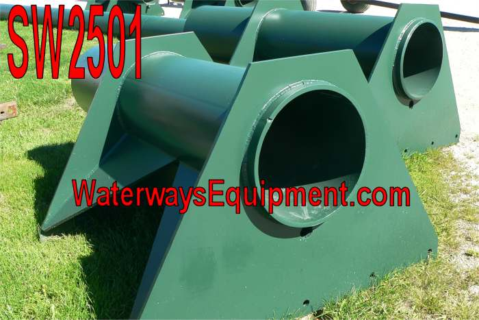 SW2501 - SECTIONAL BARGE SPUD WELLS