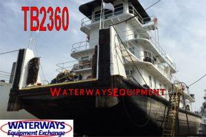TB2360 - 3200 HP TOWBOAT