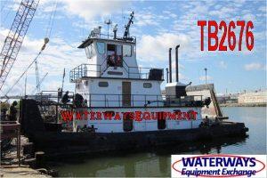 TB2676 - 800 HP PUSH BOAT