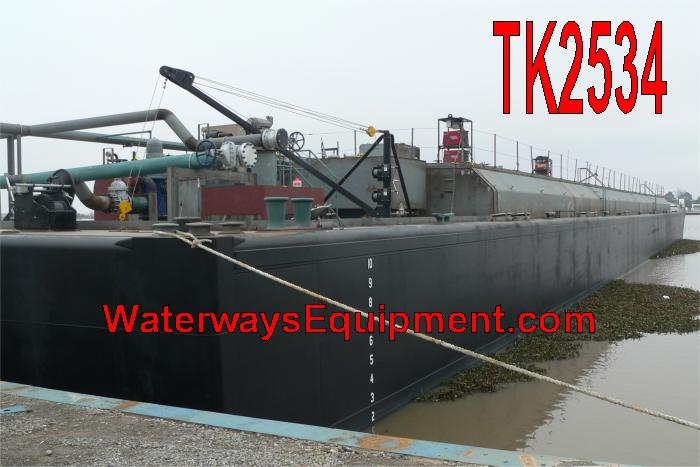 TK2534 - NEW 30,000 BBL TANK BARGE