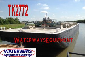 TK2772 - 8,000 BBL TANK BARGE FOR CHARTER