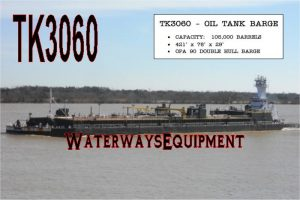TK3060 - 105,000 BBL OIL TANK BARGE